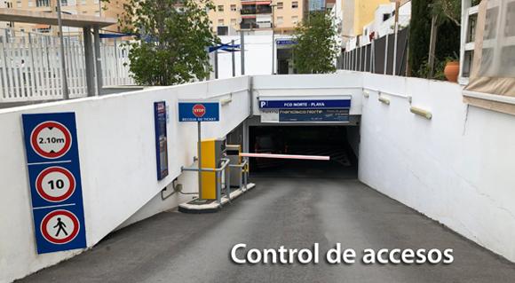 Control acceso Parking Marbella